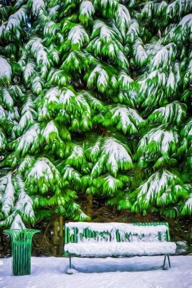 green snow s