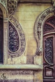 ornamental door and window