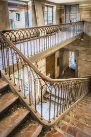 abandoned manoir in France