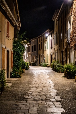 french village by night s (3)
