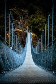 suspended bridge s